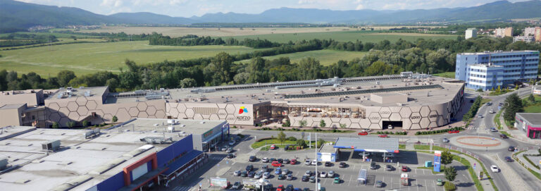 Korzo Shopping Centre Prievidza Slovakia