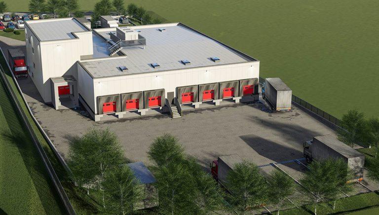Logistic Centre Dortmund Germany